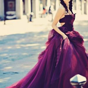Das lila Kleid - 45 erstaunliche Fotos