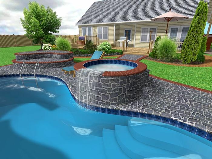 41 Wirklich Atemberaubende Pool Bilder! - Archzine.net 18 Ideen Inspirationen Pool Im Haus