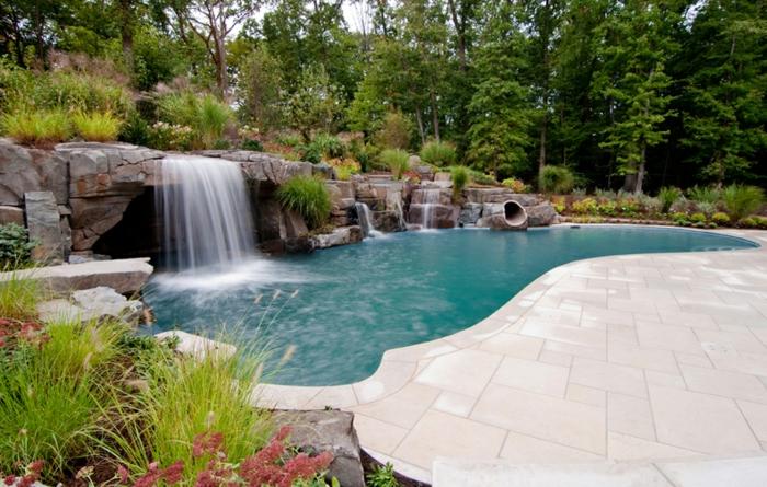 pool-bilder-wunderschöne-natur-attraktive-gestaltung