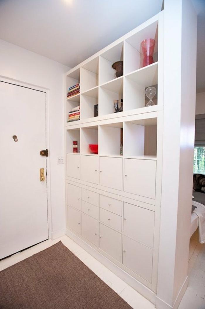 34 besonders originelle raumtrennung ideen. Black Bedroom Furniture Sets. Home Design Ideas