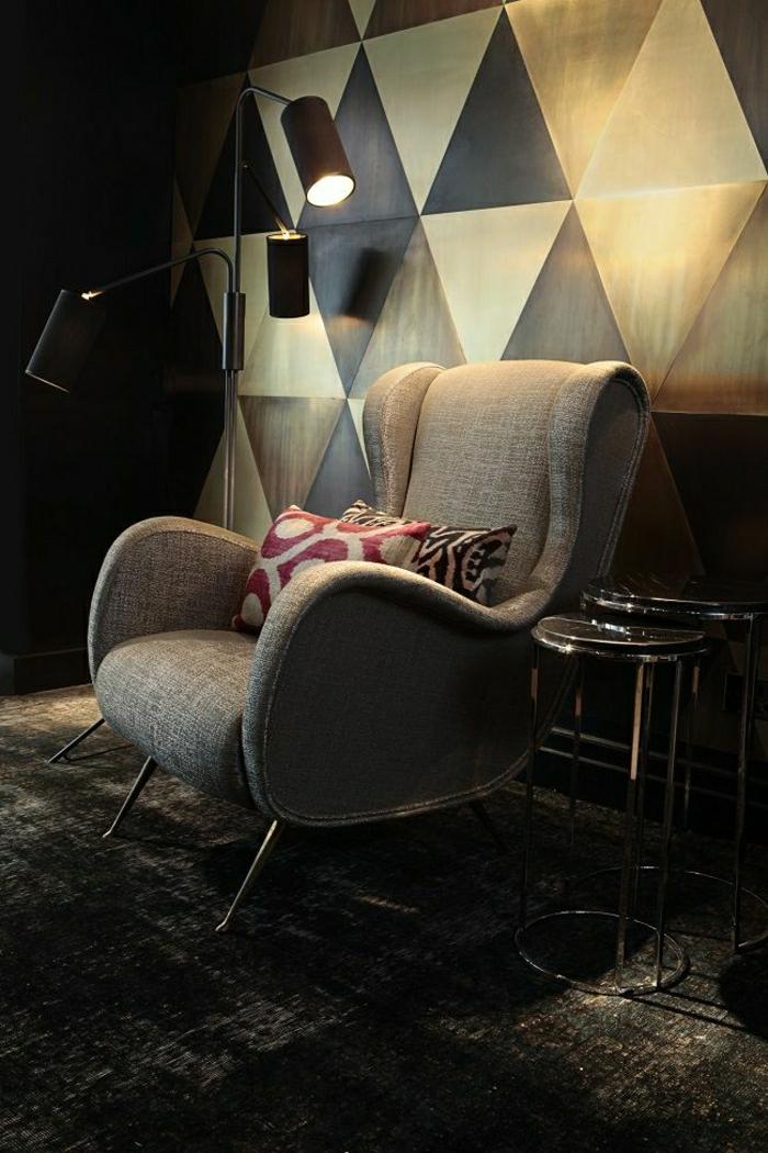 retro sessel grau excellent ikea pong sessel und hocker in birkenatur with retro sessel grau. Black Bedroom Furniture Sets. Home Design Ideas