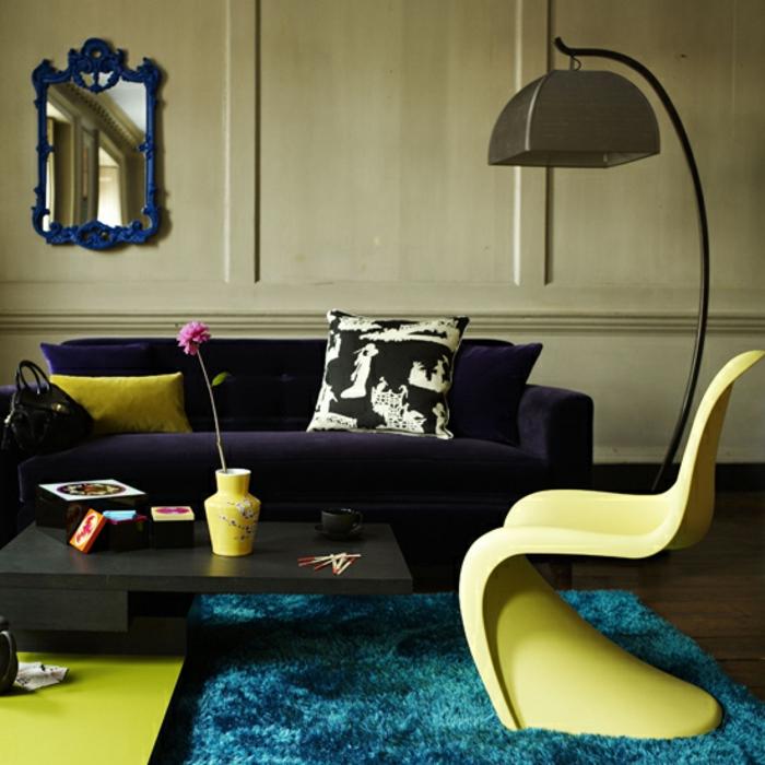 47 Retro Farben Wohnzimmertolles Vintage Wohnzimmer Wohnen