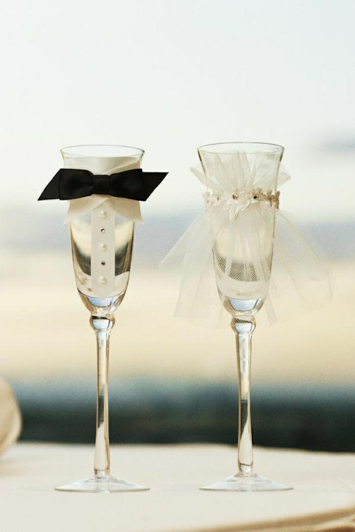 süße-Hochzeitsgläser