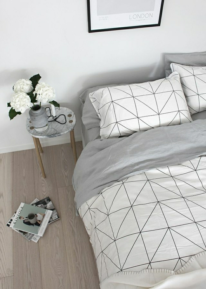schöne-Bettwäsche-graphisches-Muster-geometrisch
