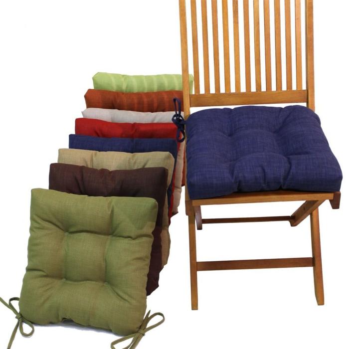 stuhlkissen 30 sch ne und bequeme modelle. Black Bedroom Furniture Sets. Home Design Ideas