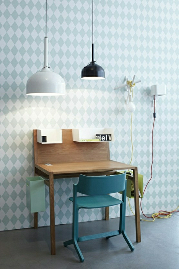 schöne-tapeten-moderne-tapeten-ideen-design-tapeten-in-blau