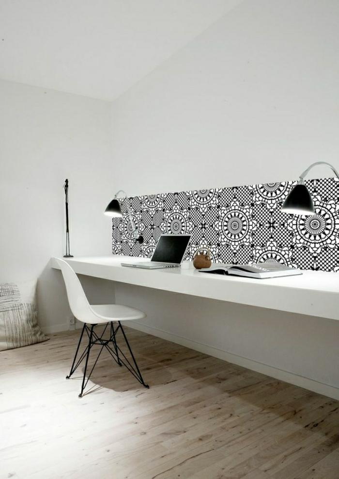 schöne-tapeten-moderne-tapeten-ideen-design-tapeten-schwarz-weiß