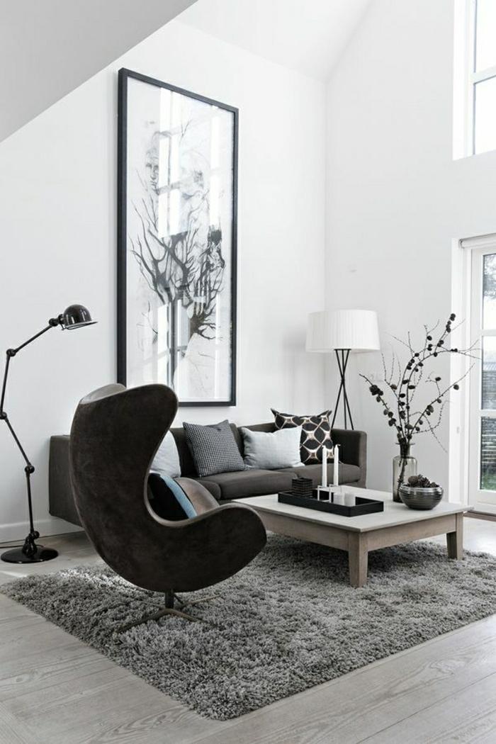 Designer Möbel Wohnzimmer gelb grün rot Polsterung