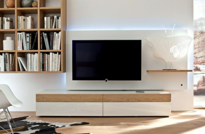 wohnzimmer ideen tv wand:-wohnzimmer-gestalten-wohnzimmer-einrichten-wandpaneele-tv-wand