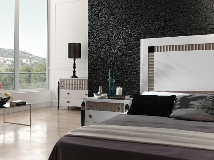 Moderne wandpaneele 80 fotos zum erstaunen for Revestimiento paredes interiores pizarra