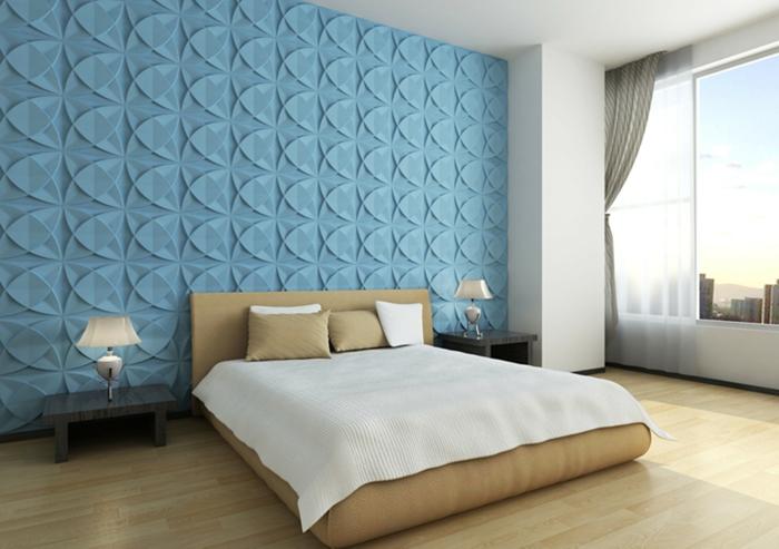 Schlafzimmer wandgestaltung ideen  beverliinfo