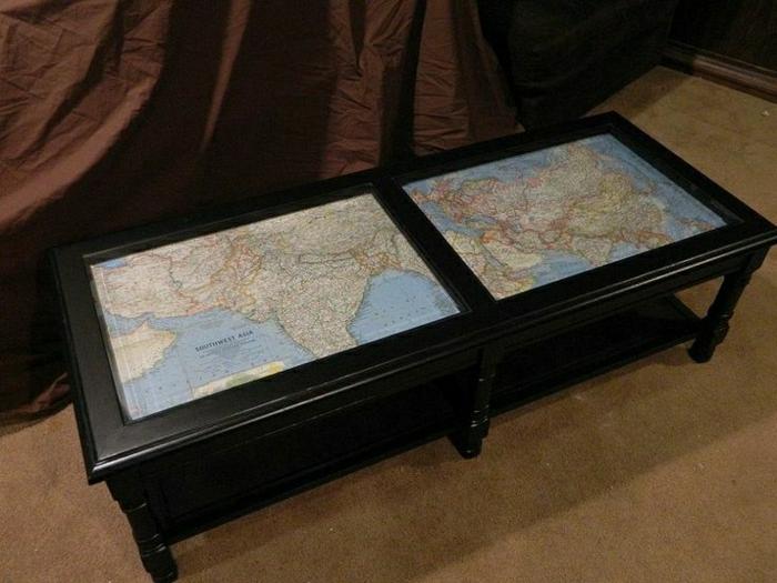 couchtisch mit dekoration 30 fantastische modelle. Black Bedroom Furniture Sets. Home Design Ideas