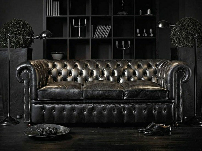 Chesterfield couch  Das Chesterfield Sofa - 70 fantastische Modelle - Archzine.net