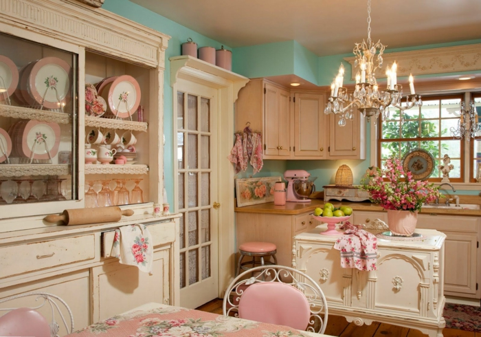 shabby-chic-küche-alles-in-pink