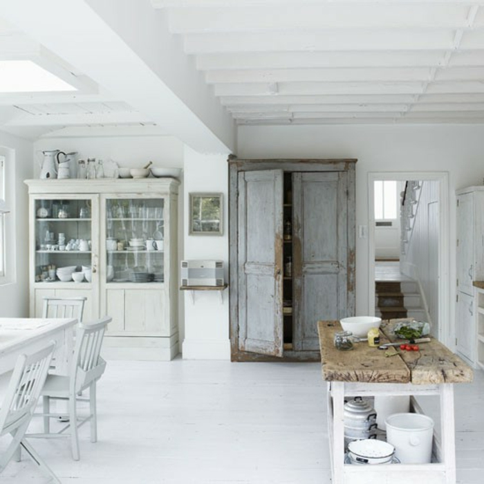 shabby chic kuche gestalten ideen, 44 tolle designs von shabby chic küche! - archzine, Design ideen