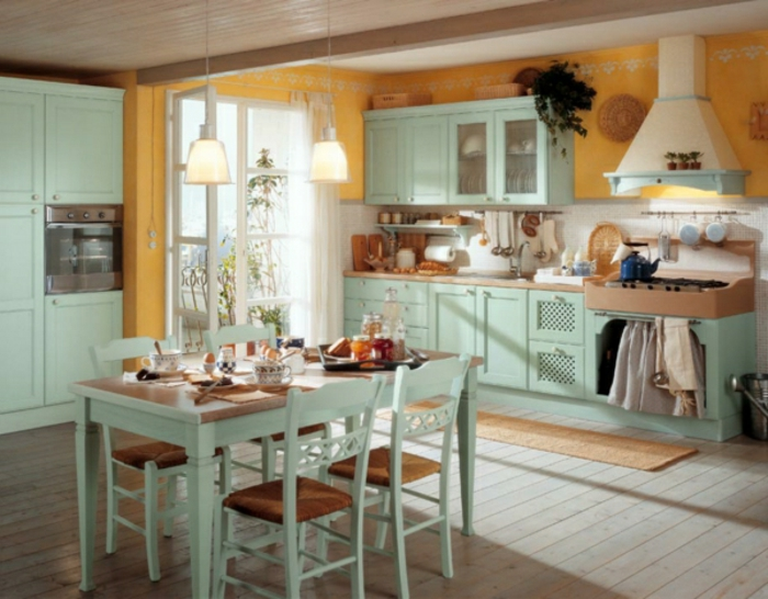 shabby chic kitchens ideas - 19 images - kitchen designs pictures ...