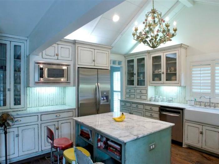 44 tolle Designs von Shabby Chic Küche! - Archzine.net