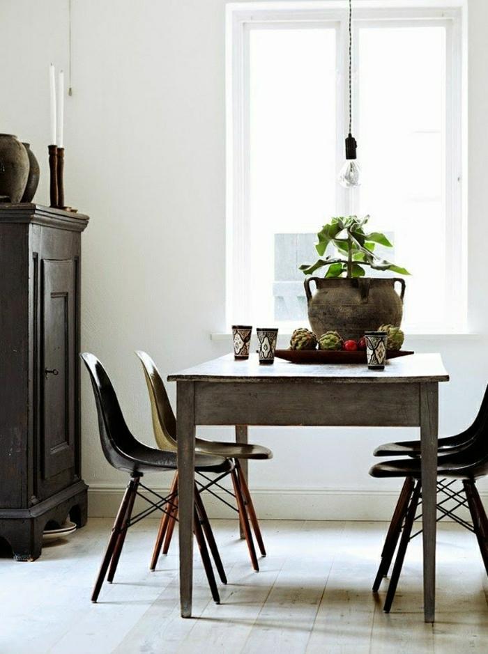 skandinavischer-Stil-Esszimmer-Esstisch-Stühle-Holz-stilvoll