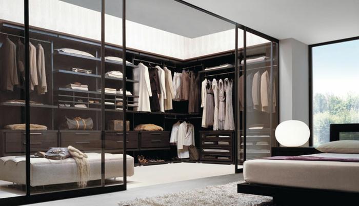 stylische-garderobe-gläserne-wände