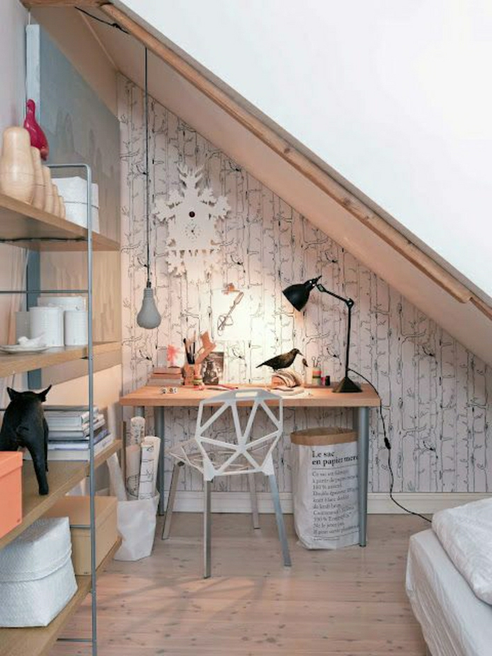 23 designer tapeten f r den arbeitsplatz - Tapeten design ideen ...