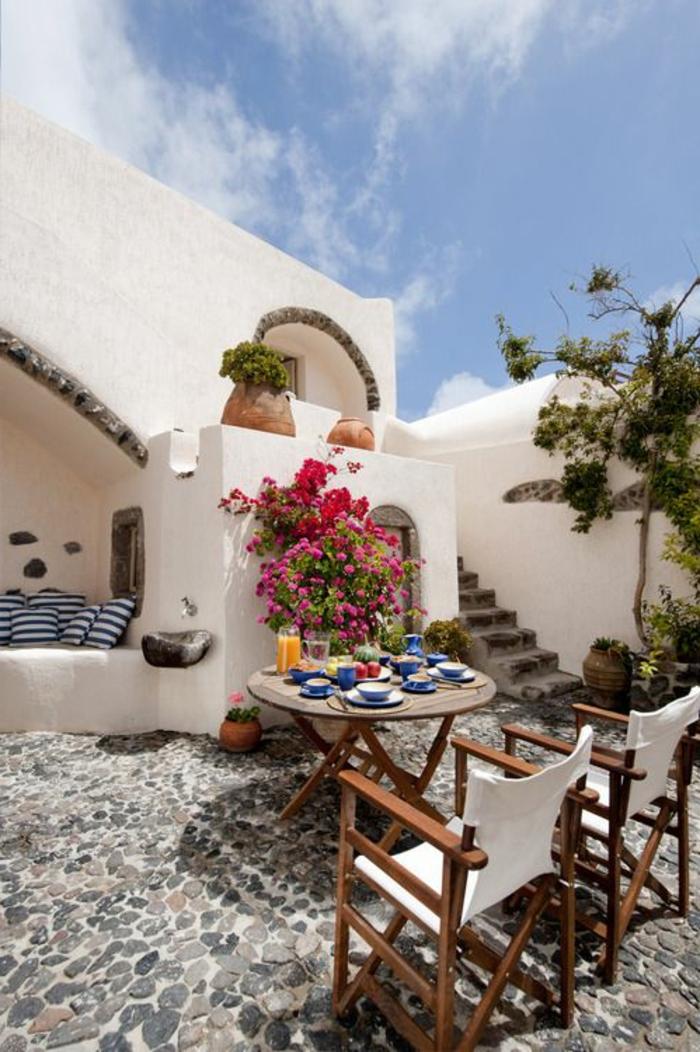 Terrassenboden aus Stein: 25 Fotos! - Archzine.net
