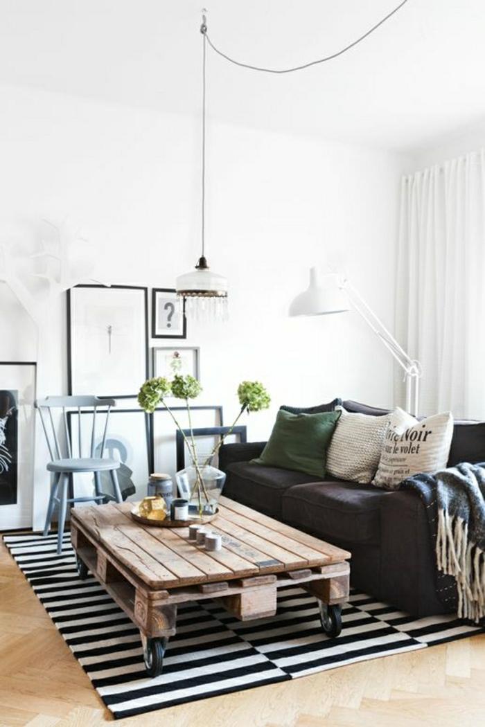 Tisch aus Paletten - 33 wunderbare Ideen! - Archzine.net