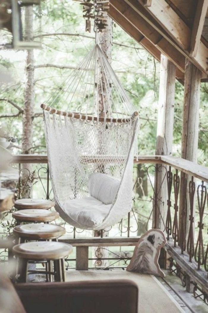 veranda-schaukel-weißes-wunderschönes-design