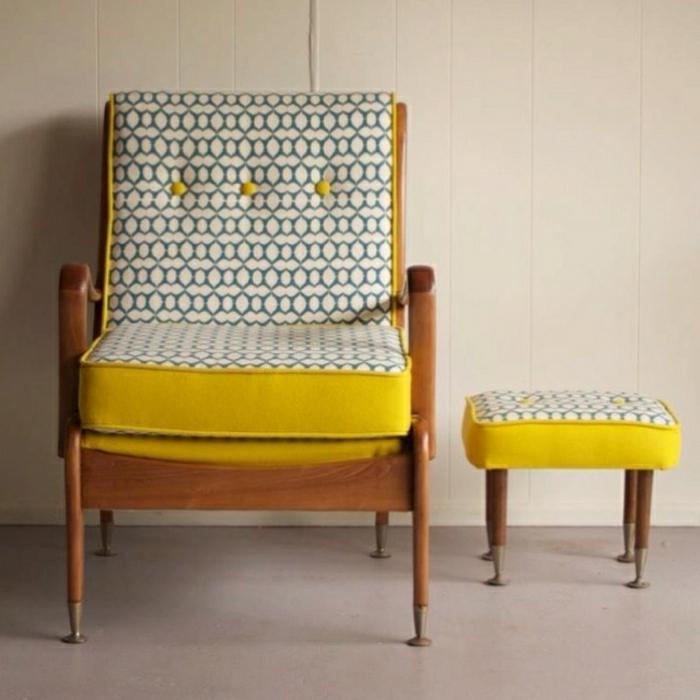 Der vintage sessel bringt komfort und nostalgie for Ohrensessel yellow