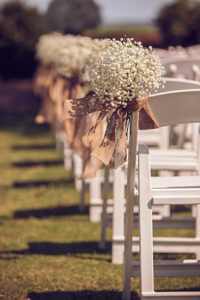 Hochzeitsdeko für Stühle - 111 faszinierende Ideen