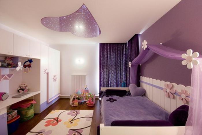 vorhänge für jugendzimmer: speziell für mädchen! - archzine.net - Moderne Jugendzimmer
