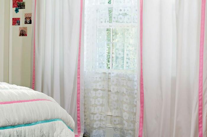 vorhänge-für-jugendzimmer-weiße-elegante-gestaltung