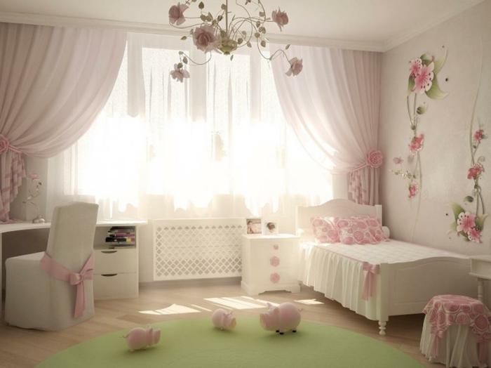 vorh nge f r jugendzimmer speziell f r m dchen. Black Bedroom Furniture Sets. Home Design Ideas