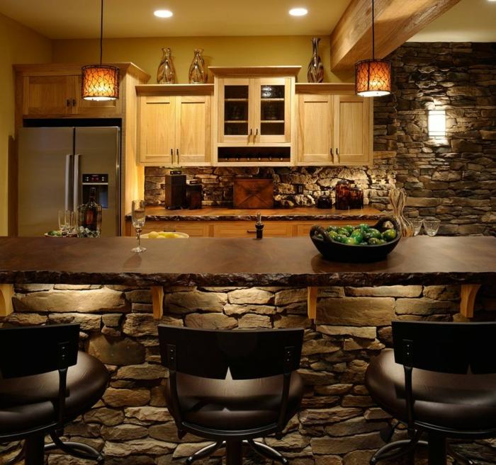 wundersch ne wandgestaltung im landhausstil. Black Bedroom Furniture Sets. Home Design Ideas