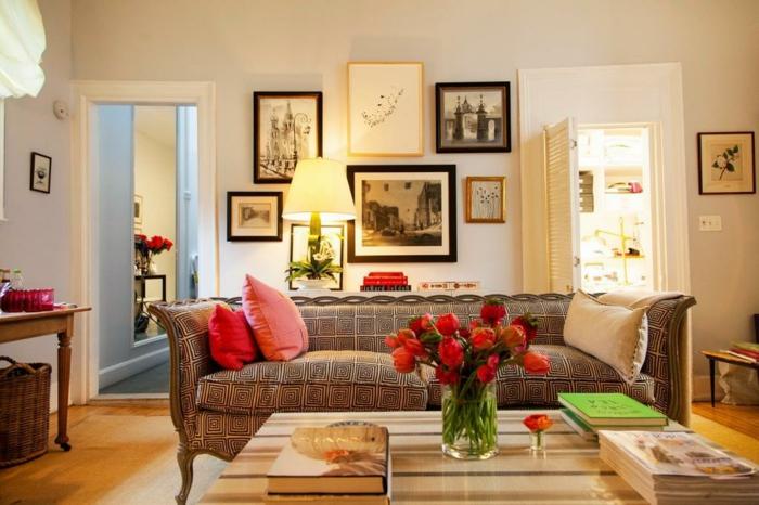 Tapeten Amerikanischer Landhausstil : Landhausstil wohnzimmer bilder : wandgestaltung im landhausstil viele
