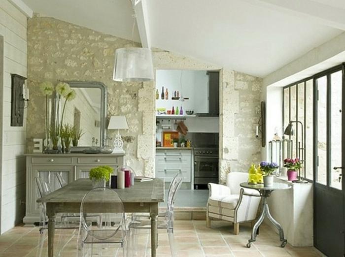 wandgestaltung im landhausstil weie farbe berall im zimmer - Wandgestaltung Landhausstil Wohnzimmer