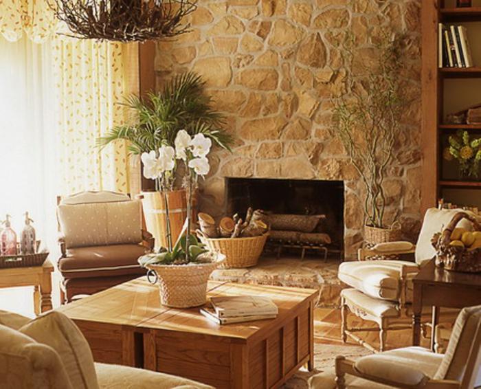 wandgestaltung wohnzimmer landhausstil wunderschne wandgestaltung im landhausstil archzine - Wandgestaltung Wohnzimmer Landhausstil