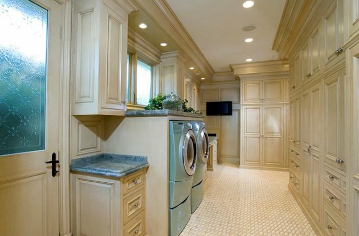 waschküche-einrichten-interessante-deckenleuchten
