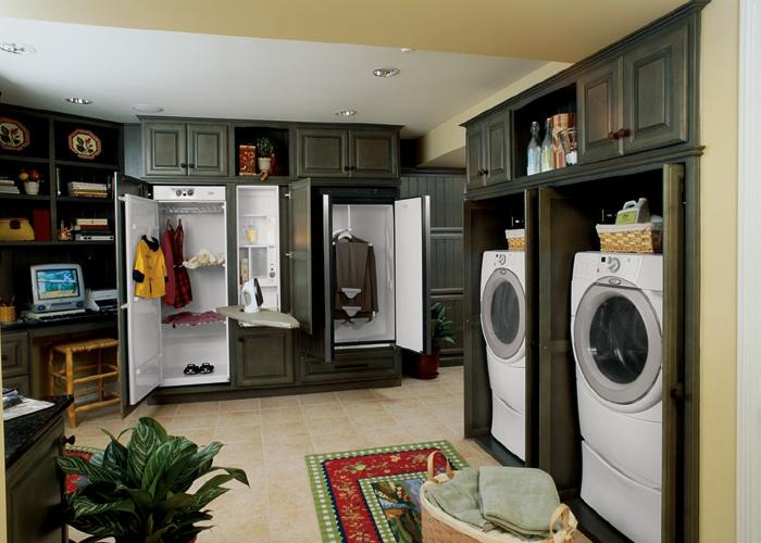 waschküche-einrichten-teppich-auf-dem-boden