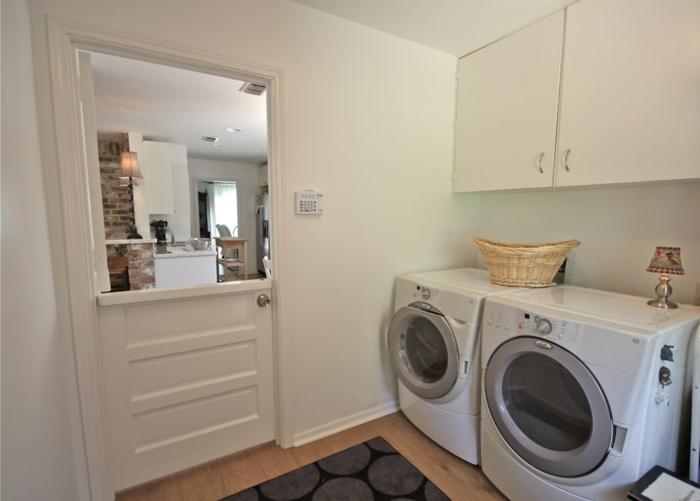 waschküche einrichten - wunderschön gestaltet - sehr klein