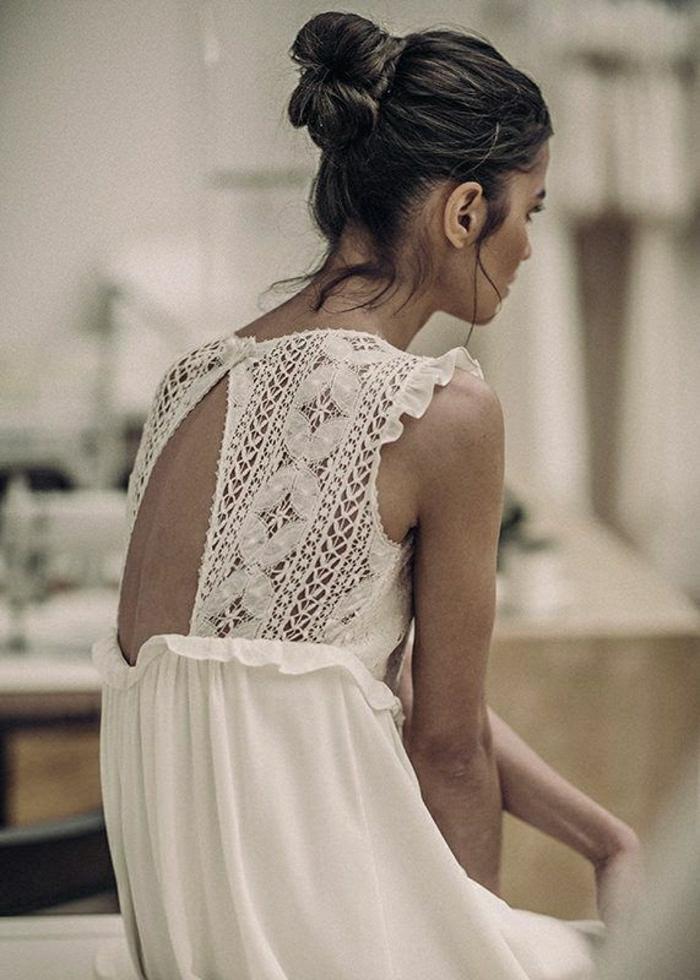 weißes-Sommerkleid-Spitze-Rücken-leger