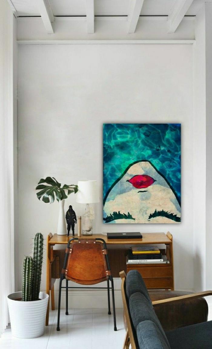 Moderne Wandbilder - 37 tolle Einrichtungsideen damit