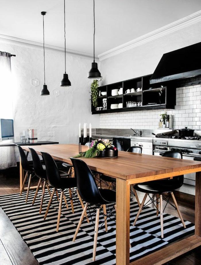 Wohnideen Esstisch 38 kreative wohnideen in schwarz und weiß archzine