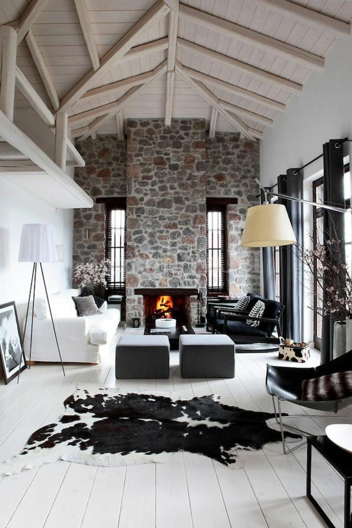 38 kreative Wohnideen in Schwarz und Weiß!