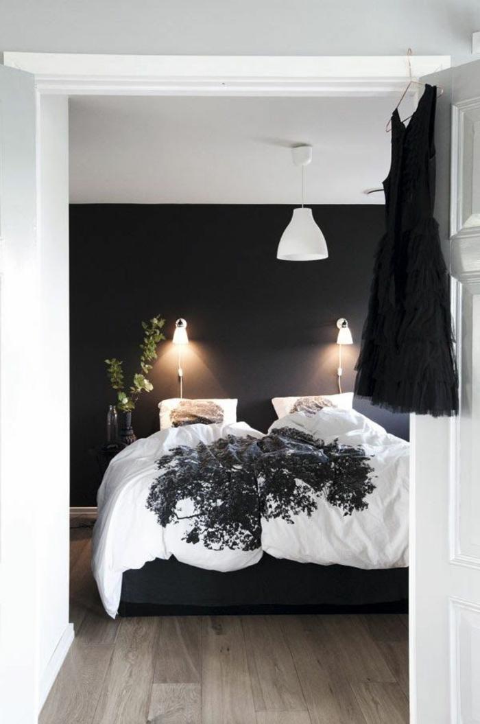 Beautiful Schlafzimmer Schwarz Weiß Pictures - Rellik.us - rellik.us