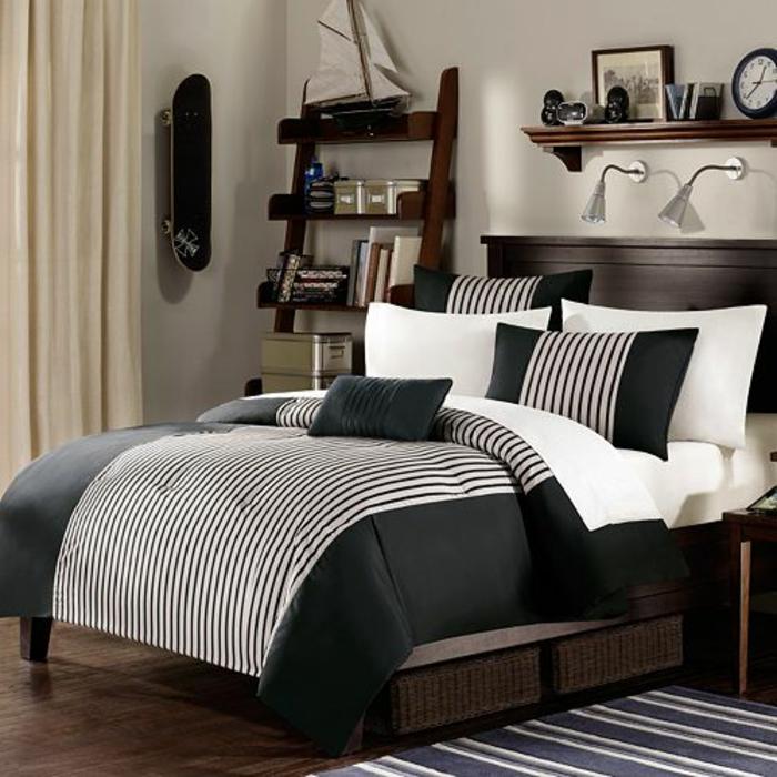 Wohnideen Großes Schlafzimmer 38 kreative wohnideen in schwarz und weiß archzine