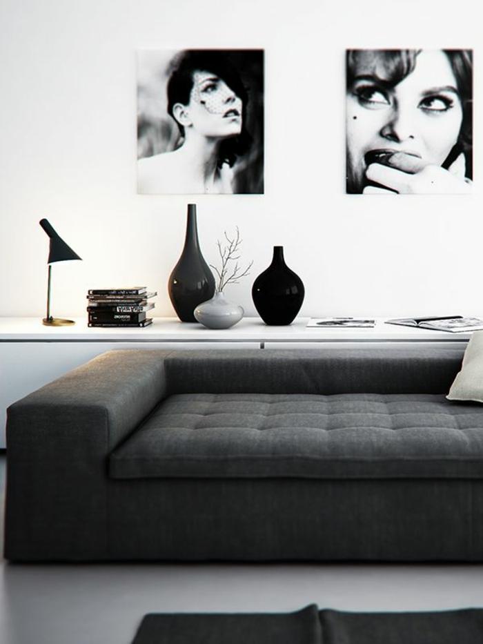 38 kreative wohnideen in schwarz und wei for Wohnideen bilder