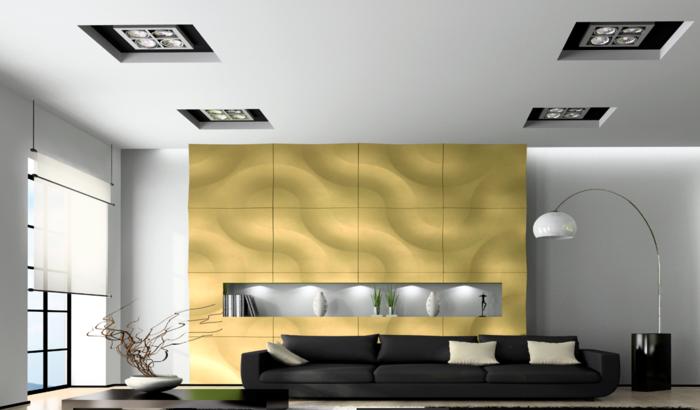 Moderne Wandpaneele - 80 Fotos zum Erstaunen