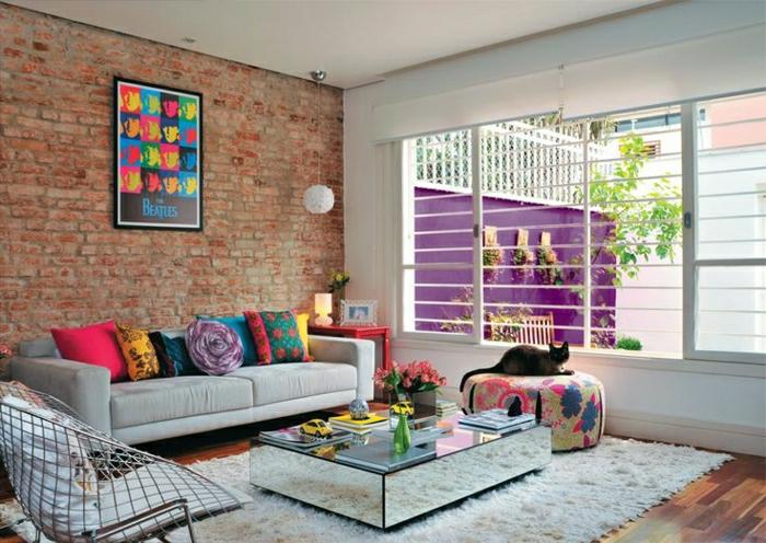 einrichtungsideen fürs wohnzimmer in 45 fotos - archzine, Wohnzimmer