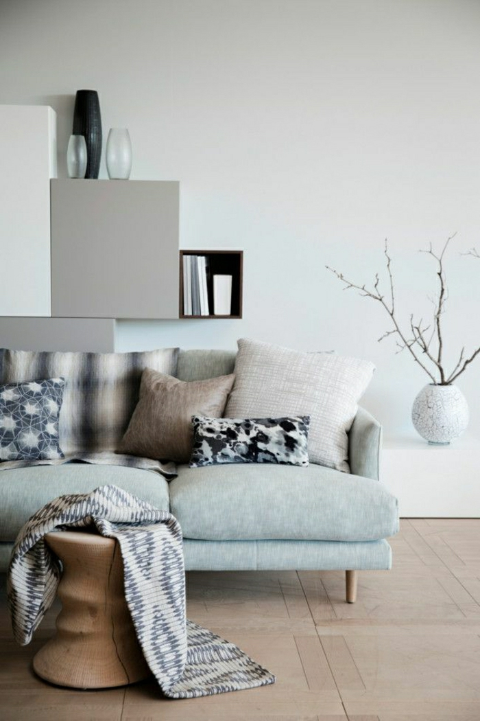 einrichtungsideen f rs wohnzimmer in 45 fotos. Black Bedroom Furniture Sets. Home Design Ideas