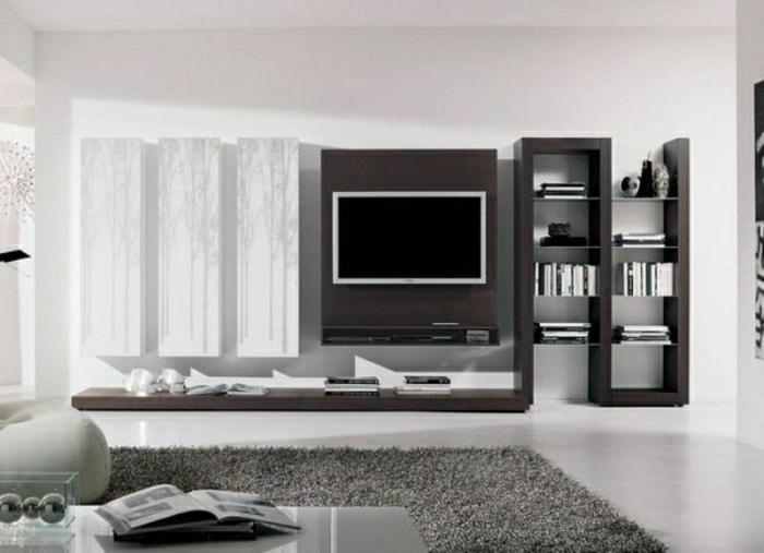 wohnzimmer wande gestalten raum und m beldesign inspiration. Black Bedroom Furniture Sets. Home Design Ideas